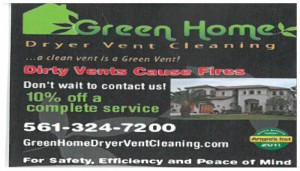 Dryer Vent Green Home