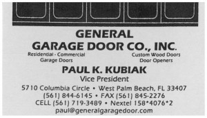 GarageDoorGeneral