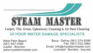 Water Dmg Misc Cln Steam Master